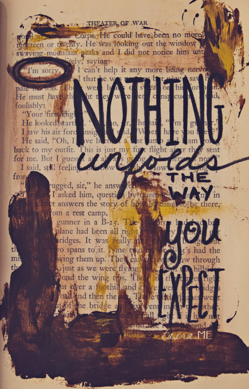 nothing-unfolds-art-journal-page