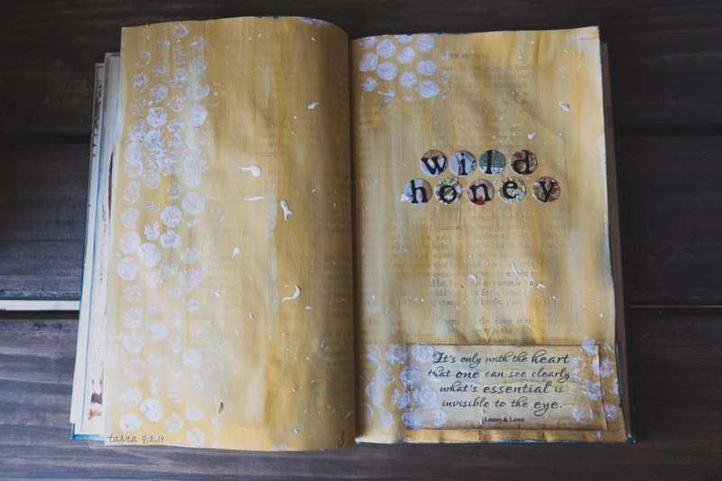 wild honey art journal