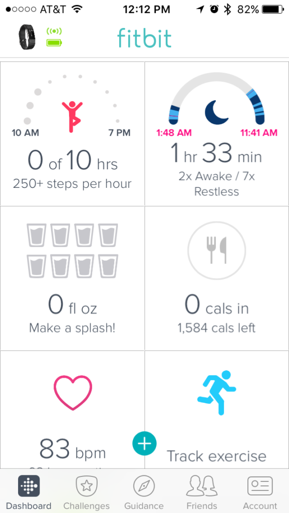 fitbit sleep tracker image